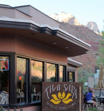 Thai Sapa Best Asian Food Restaurant Springdale Zion Southern Utah